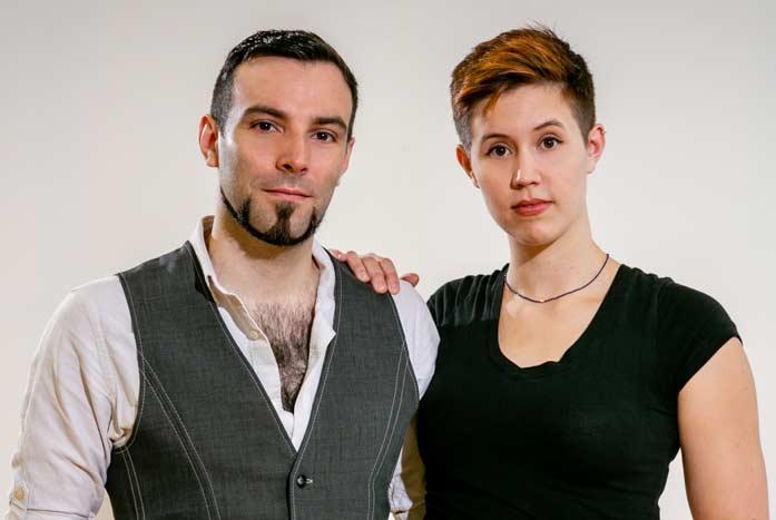 David and Willow of Volante Design.