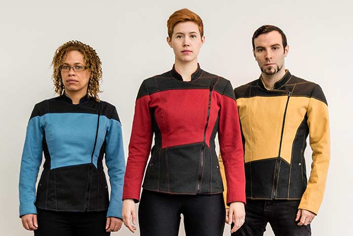 Volante Designs' TNG-inspired jackets, the 2364.