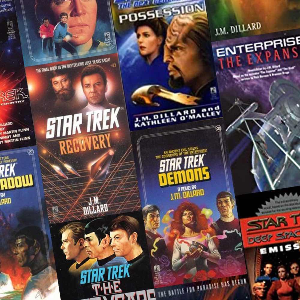 Star Trek books written by Jeanne Kalogridis