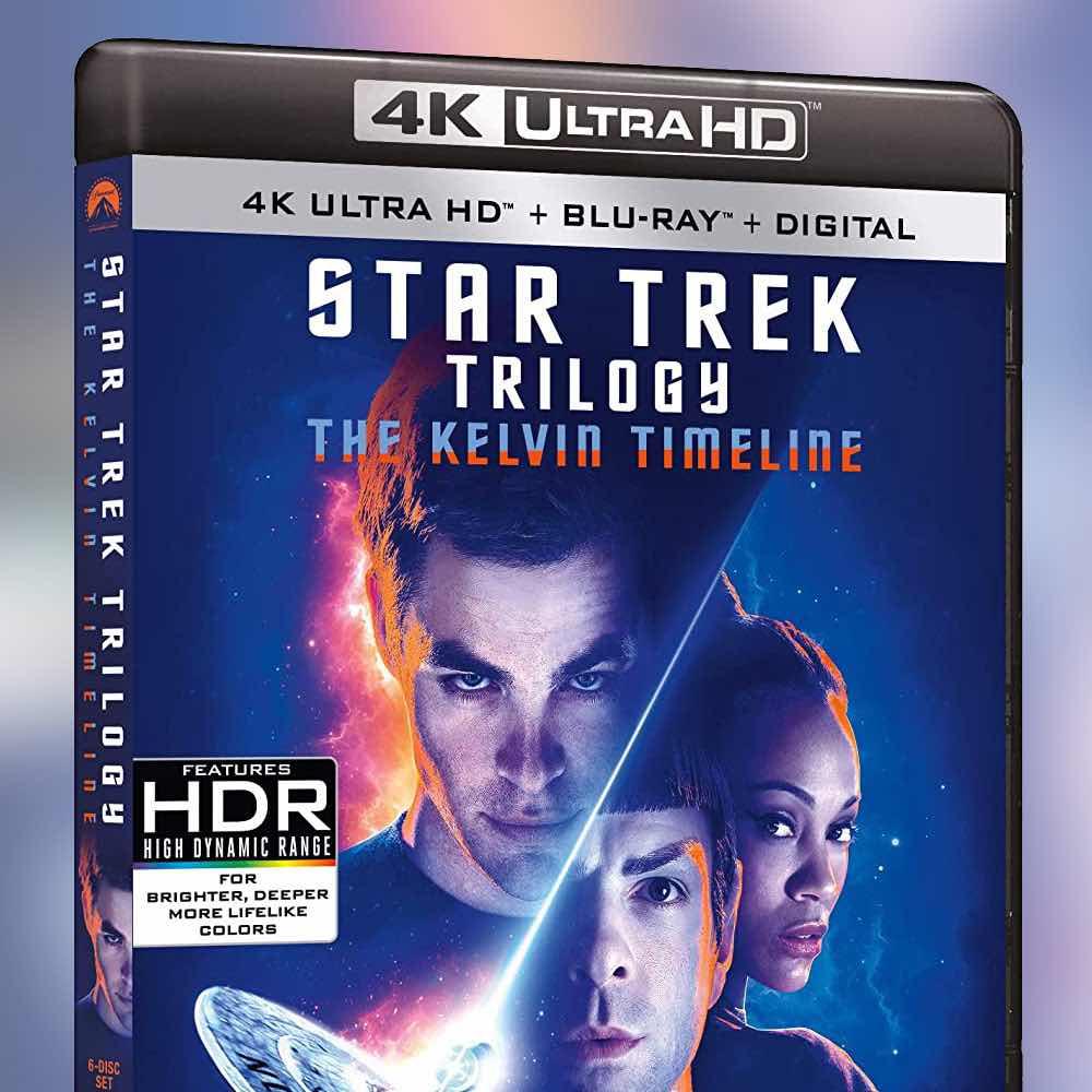 Star Trek Kelvin Films on 4K